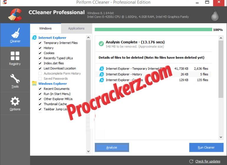 CCleaner Pro - Procrackerz.com
