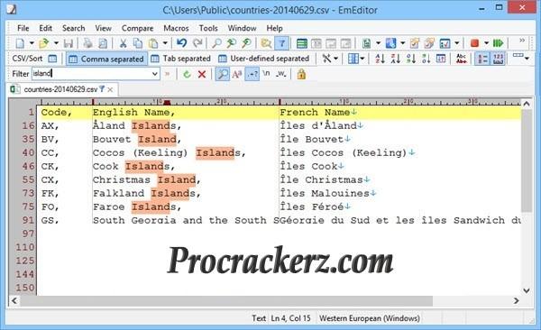EmEditor Professional With Latest keys - procrackerz.com