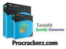 TunesKit Spotify Converter Crack - Procrackerz.com