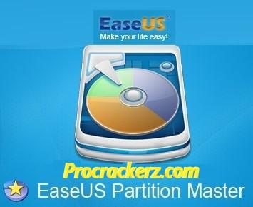 EaseUS Partition Master Crack - Procrackerz.com