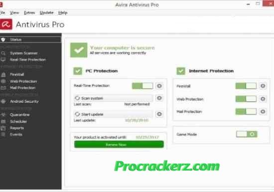 Avira Antivirus - procrackerz.com