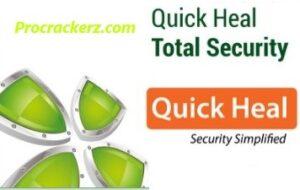 Quick Heal Total Security Crack - Procrackerz.com