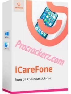 Tenorshare iCareFone Crack - Procrackerz.com
