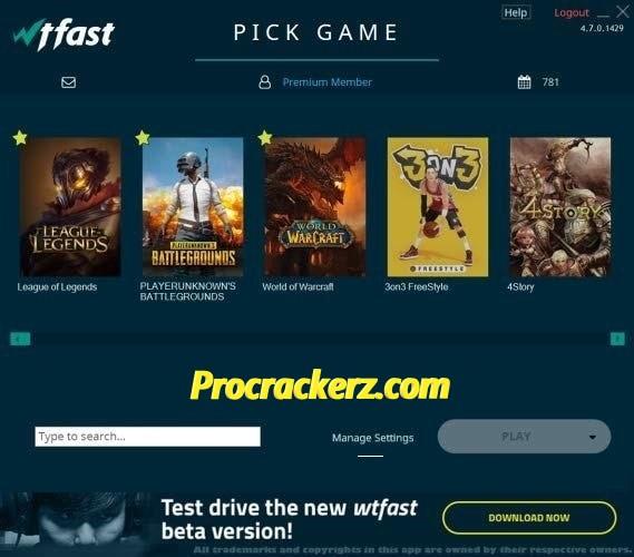 WTFAST Crack Premium - Procrackerz.com