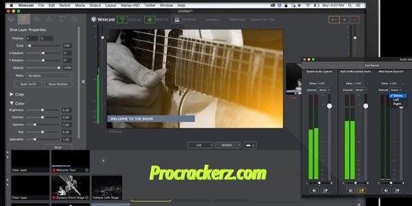 Wirecast Pro - Procrackerz.com