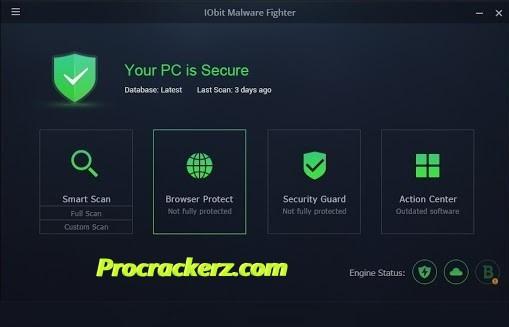 IObit Malware Fighter procrackerz.com