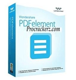 Wondershare PDFelement Crack procrackerz.com